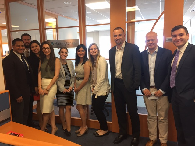 HarringtonRE Meets with the U.S. Reinsurance Under 40's Group
